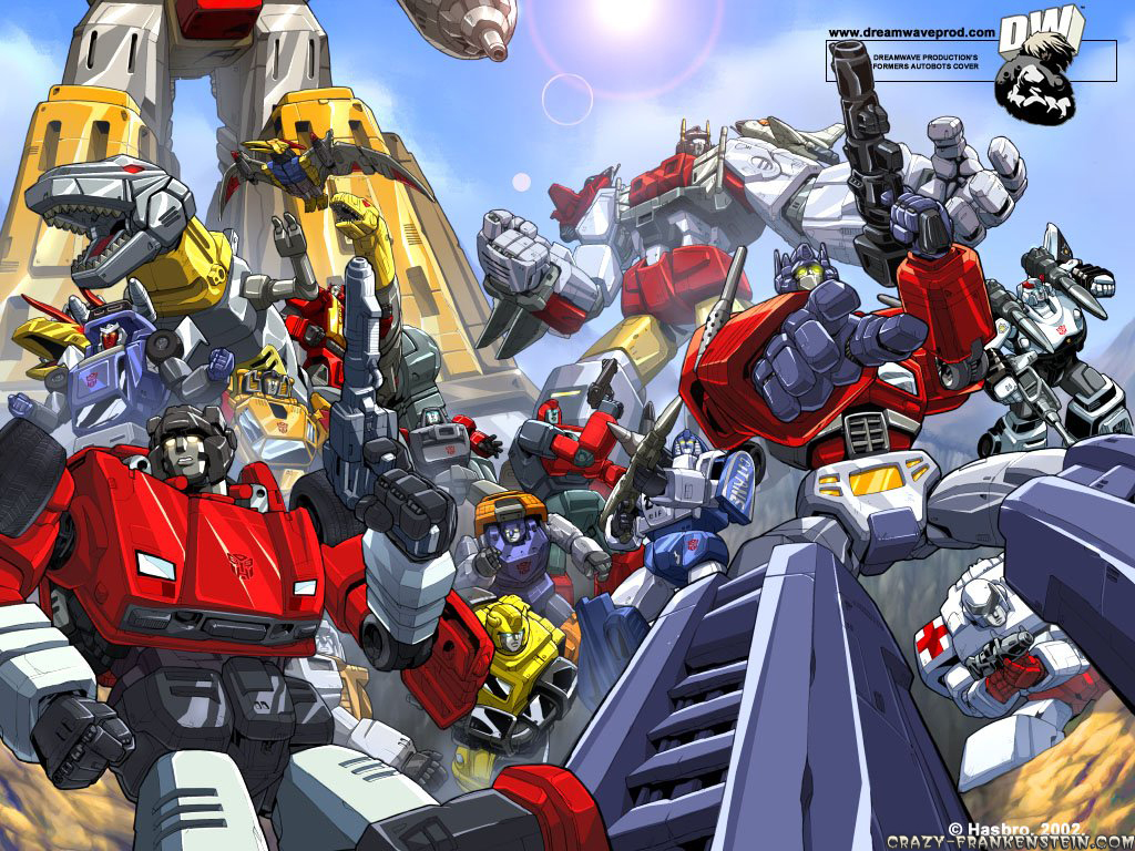 transformers cartoon  video